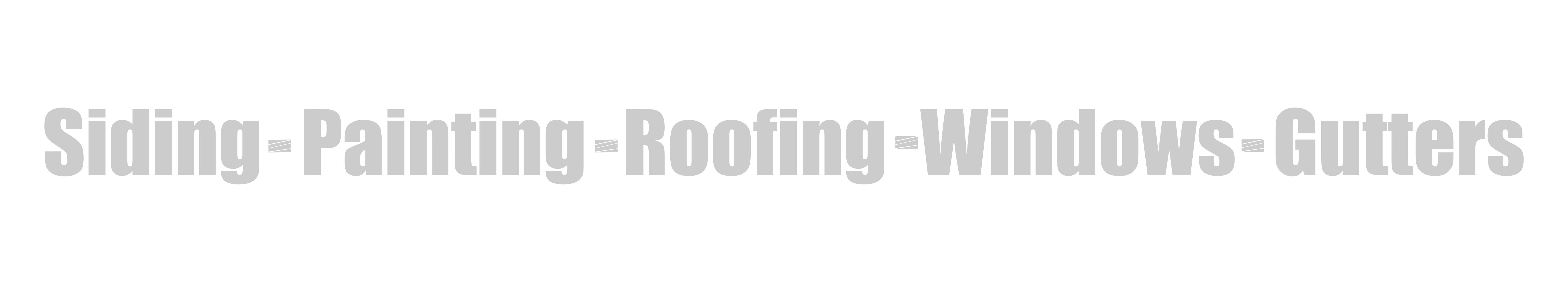 Siding-Roofing-Painting